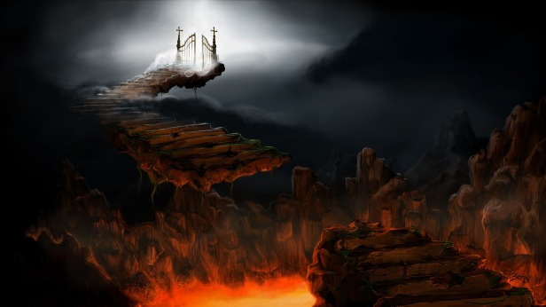 gates to heaven or hell