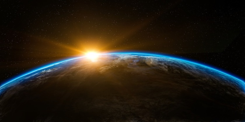 sunrise on earth